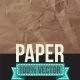 Texture of Crumpled Paper - GraphicRiver Item for Sale