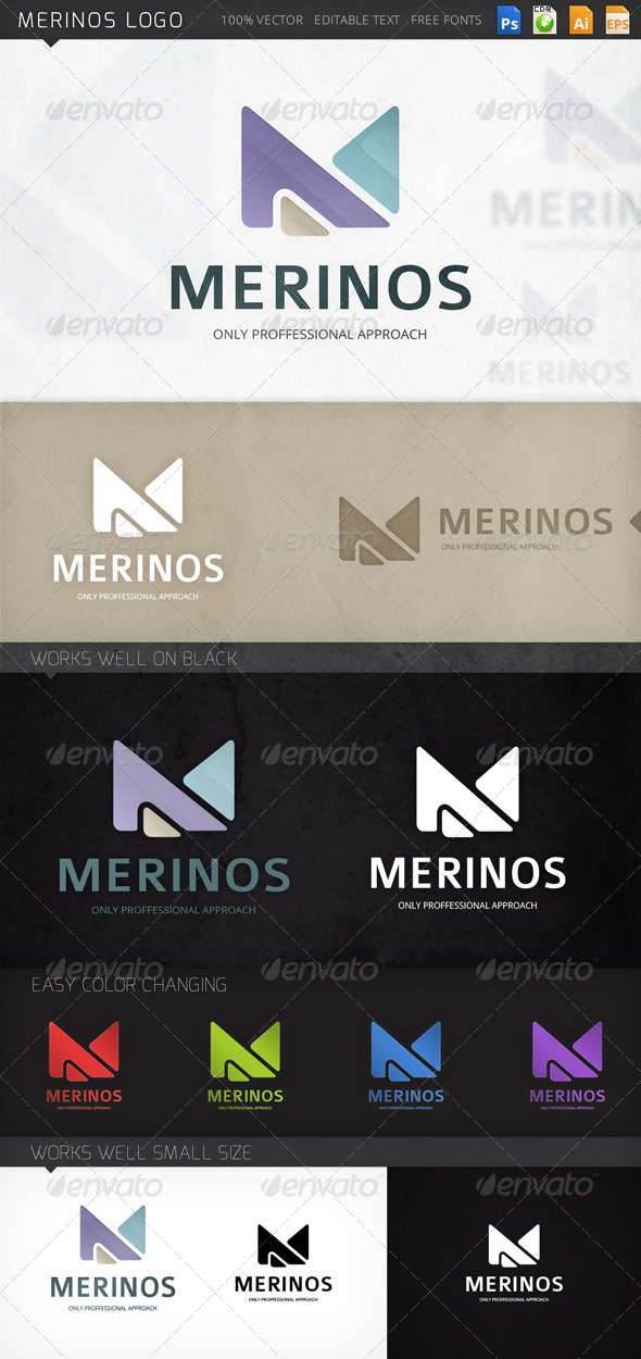 GraphicRiver Merinos Logo 8448091