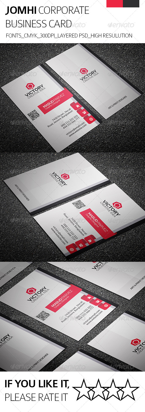 Jomhi & Corporate Business Card