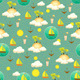 Palm Island Pattern - GraphicRiver Item for Sale