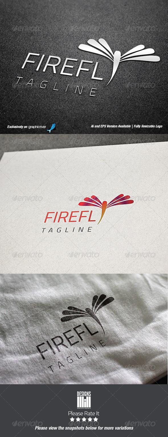 GraphicRiver Firefly Logo 8454063
