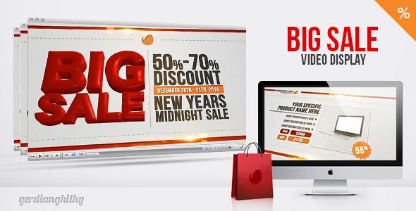 Big Sale Video Display
