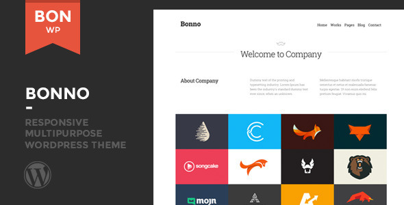 ThemeForest Bonno Responsive Multipurpose WordPress Theme 8391451