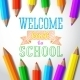 Welcome Back to School Hand-Drawn Greeting - GraphicRiver Item for Sale