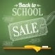 Back to School Sale on the Chalkboard - GraphicRiver Item for Sale