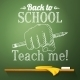 Chalkboard with Drawing - GraphicRiver Item for Sale