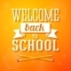 Welcome Back to School Greeting Card  - GraphicRiver Item for Sale
