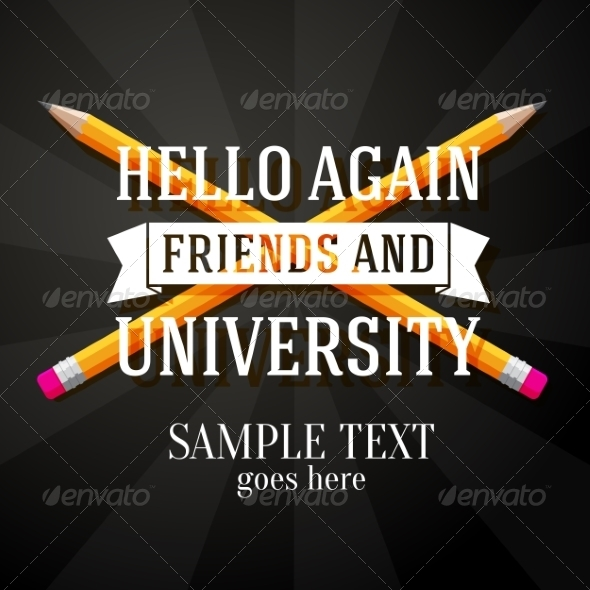 GraphicRiver University Greeting 8454289