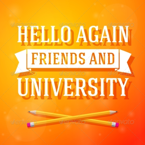 GraphicRiver University Greeting 8454292