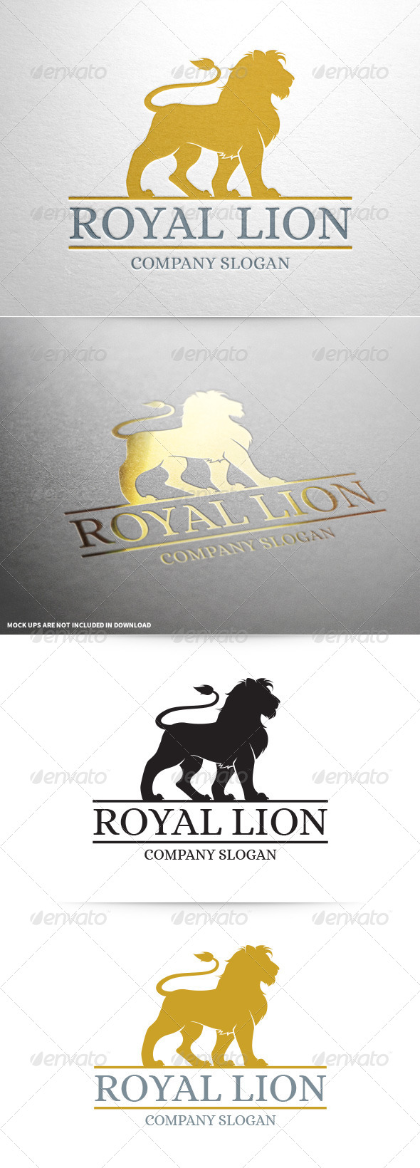 Royal Lion Logo Template