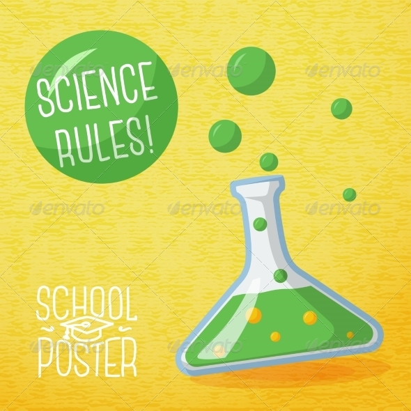 GraphicRiver School Poster 8454364