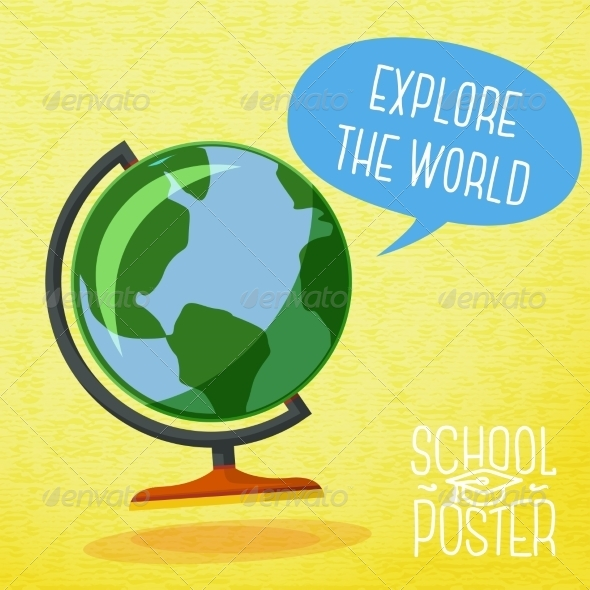 GraphicRiver School Poster 8454368