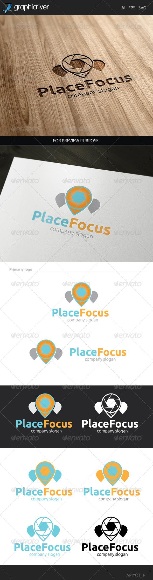 GraphicRiver Place Focus Logo 8454387
