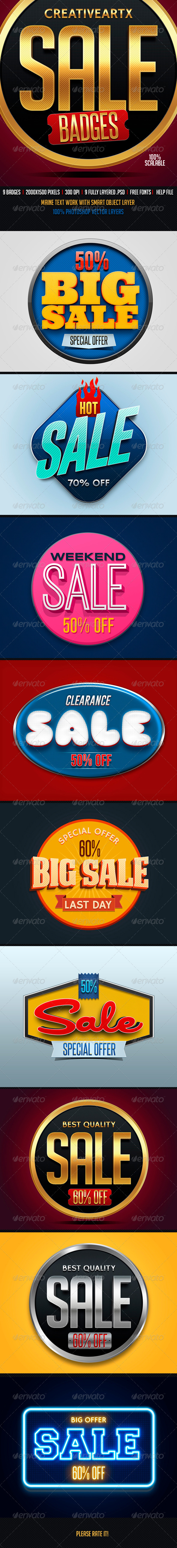 GraphicRiver Sale Badges 2 8454417