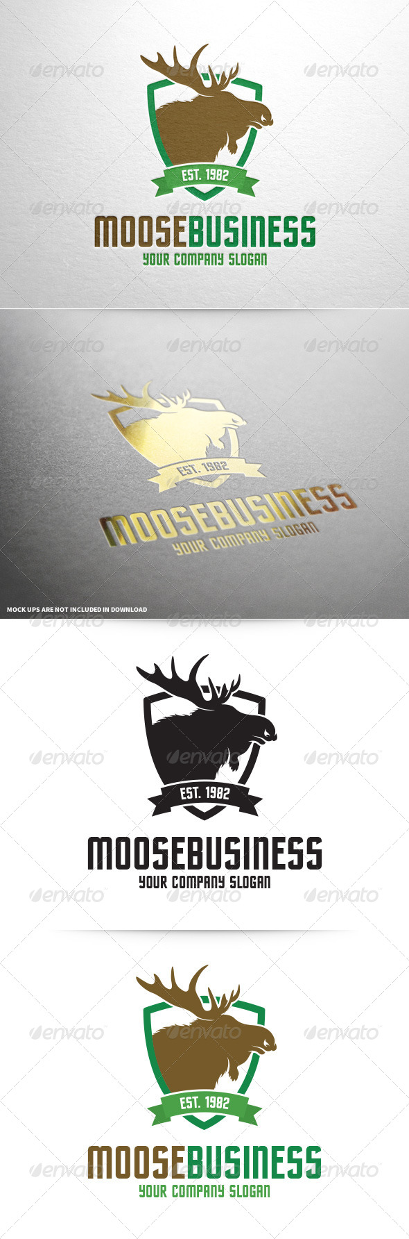 GraphicRiver Moose Business Logo Template 8454439