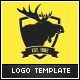 Moose Business Logo Template - GraphicRiver Item for Sale