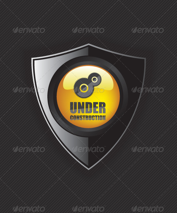 GraphicRiver Under Construction Shields 8454448