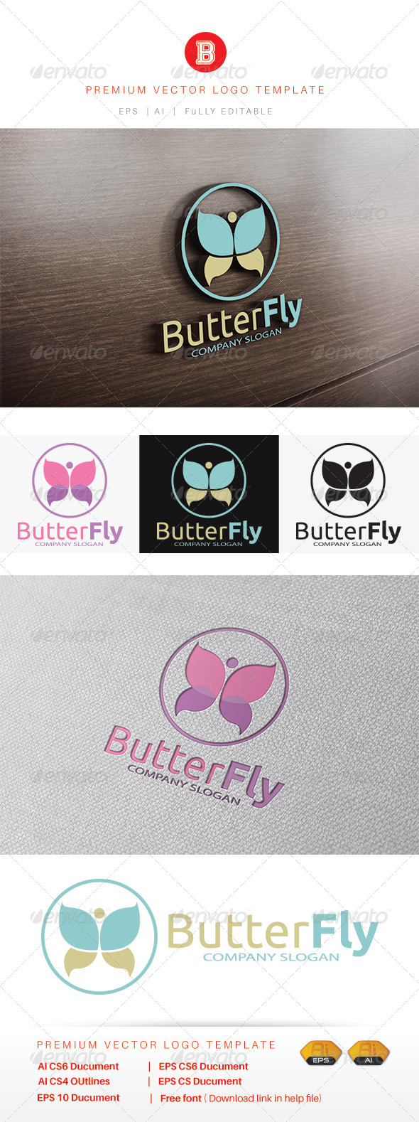GraphicRiver Butter Fly v.2 8454455
