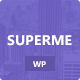 Superme - Portfolio WordPress Theme - ThemeForest Item for Sale