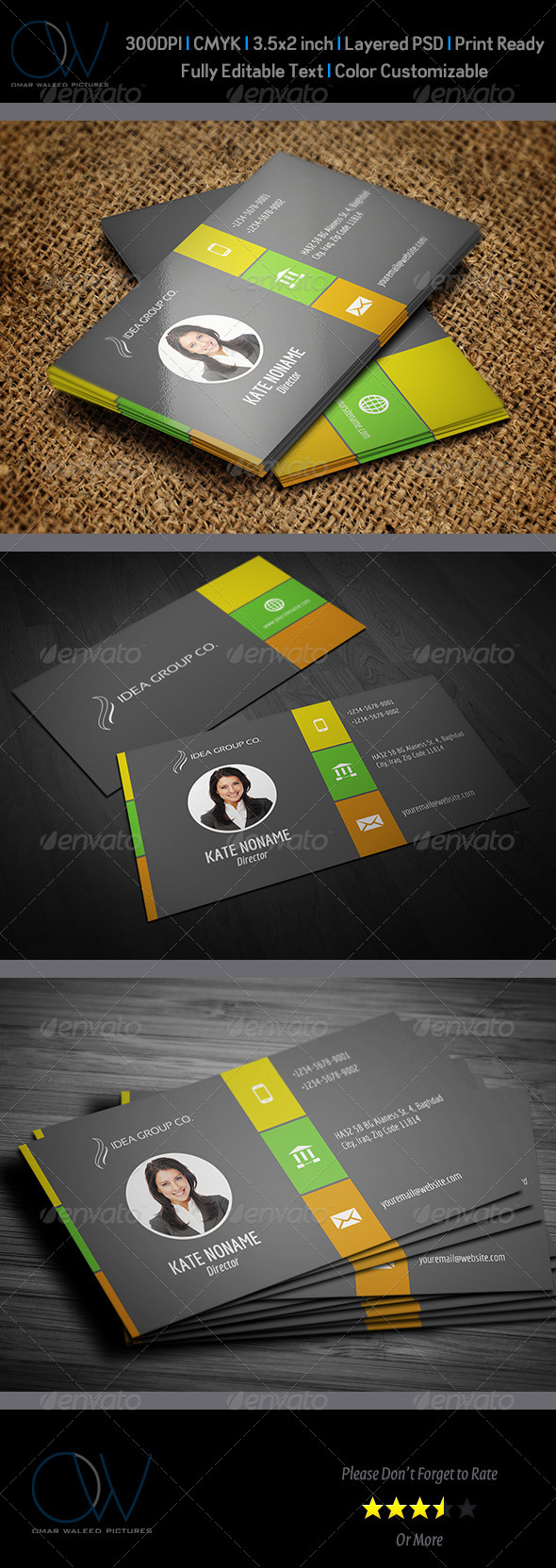 Corporate Business Card Vol.44 - Corporate Business Cards