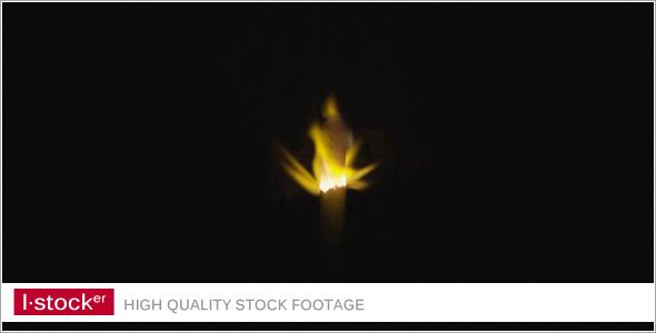 Candle Smoke 1