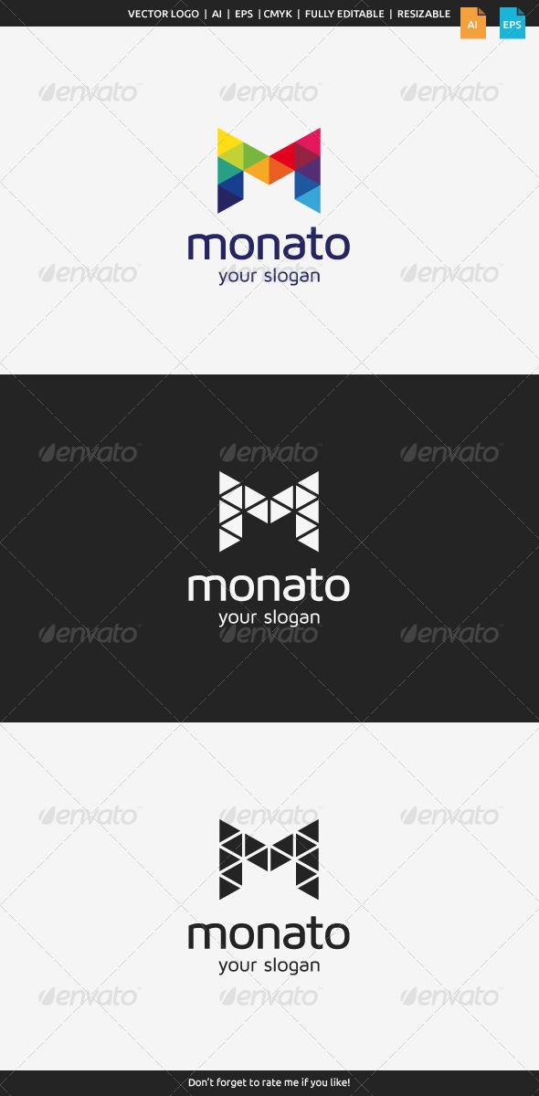 GraphicRiver Monato M Logo 8455517