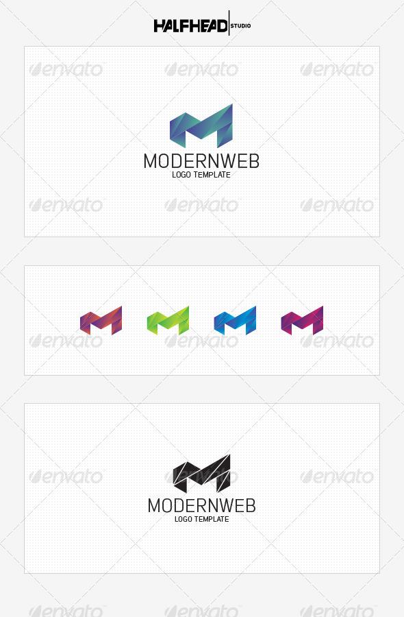 GraphicRiver ModernWeb Logo Template 8455519