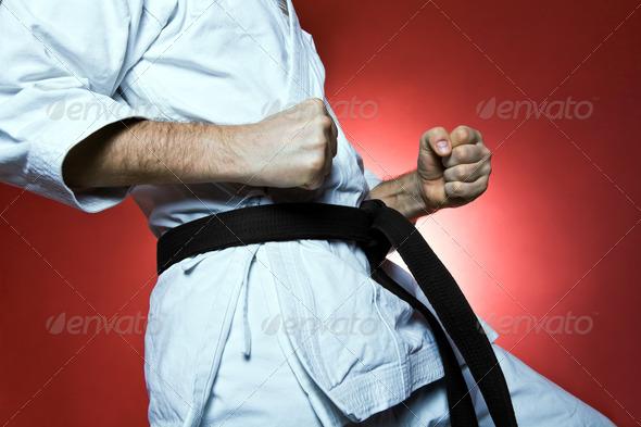 PhotoDune Karate training 1587784