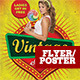 Vintage Flyer/Poster - GraphicRiver Item for Sale