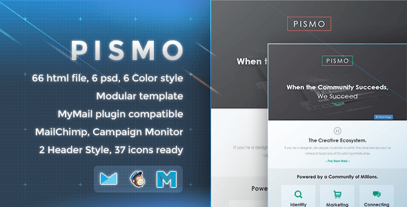 Pismo - Responsive Email Template