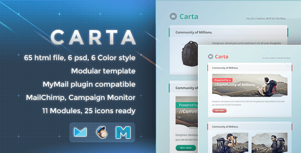 Carta - Responsive Email Template