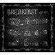 Breakfast Chalkboard Menu - GraphicRiver Item for Sale