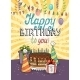 Happy Birthday Greeting Card or Invitation - GraphicRiver Item for Sale