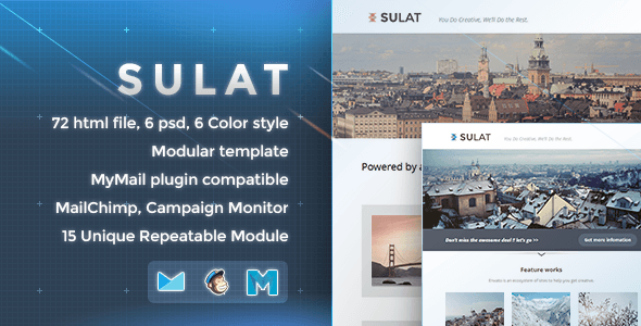 Sulat - Responsive Email Template - Newsletters Email Templates