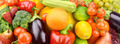 Background of vegetables and fruit set - PhotoDune Item for Sale
