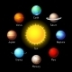 Planets Icons - GraphicRiver Item for Sale