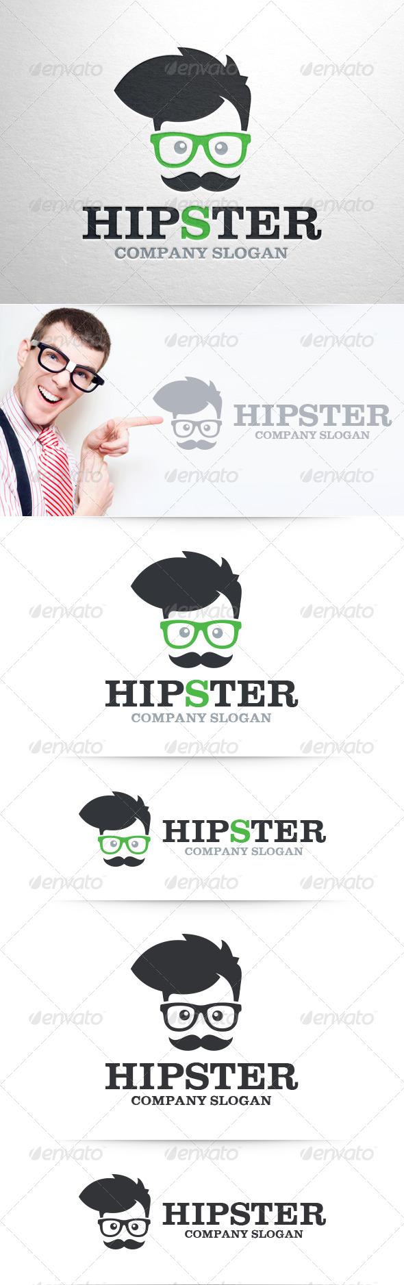 GraphicRiver Hipster Logo Template v2 8461767