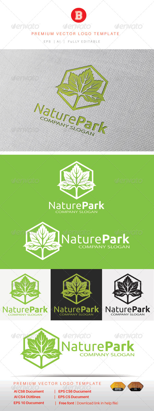 GraphicRiver Nature Park 8461919
