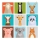 Set of Vector Animal Icons - GraphicRiver Item for Sale