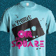 Be There Or Be Square - Seventies T-Shirt Design - GraphicRiver Item for Sale