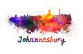 Johannesburg skyline in watercolor - PhotoDune Item for Sale