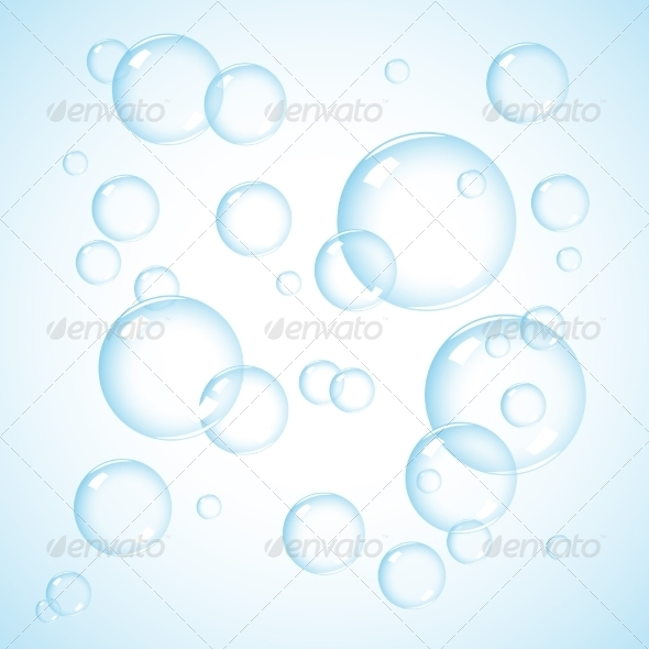 GraphicRiver Soap Bubbles 8463343