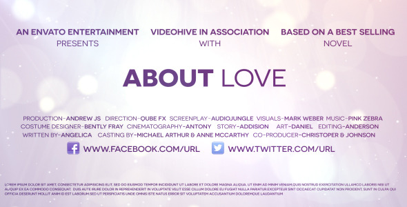 About Love Trailer