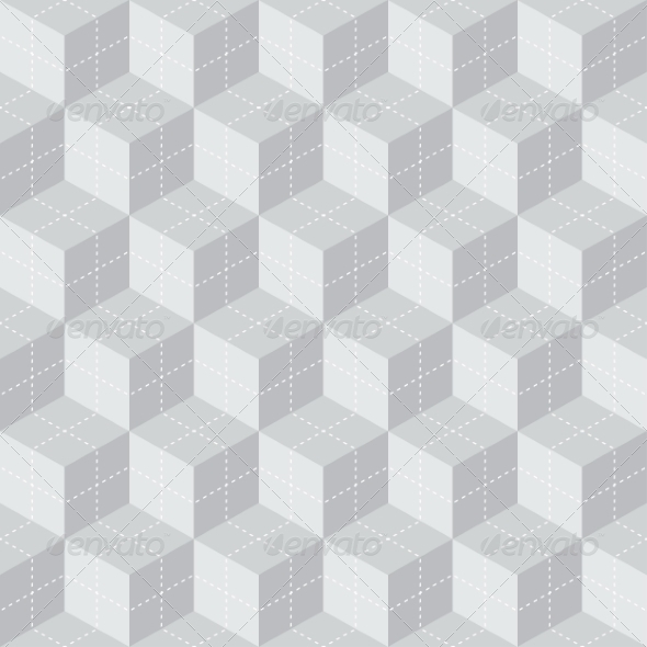GraphicRiver Cube Seamless Pattern 8463513