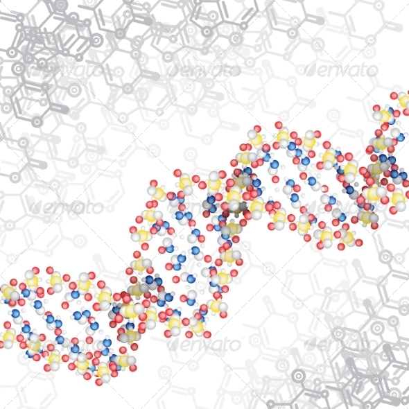 GraphicRiver DNA Structure 8463548