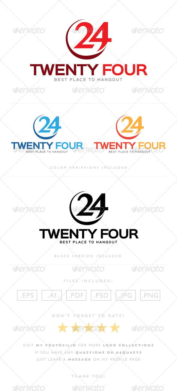 GraphicRiver Twenty Four Logo 8463720