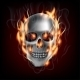 Skull on Fire - GraphicRiver Item for Sale