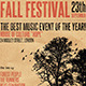 Fall Festival Flyer/Poster - GraphicRiver Item for Sale