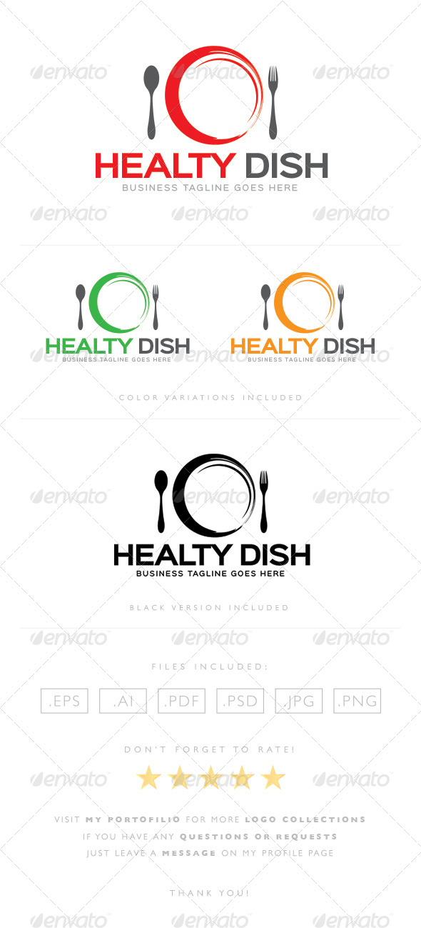 GraphicRiver Healty Dish 8465058
