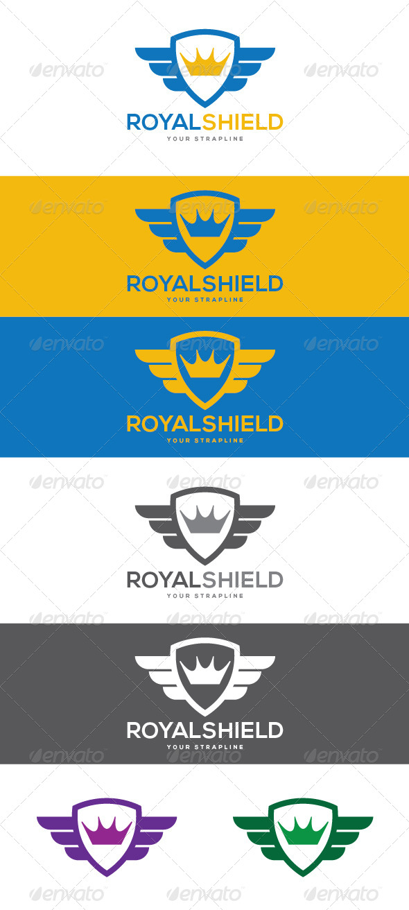 GraphicRiver Royal Shield Logo 8465069